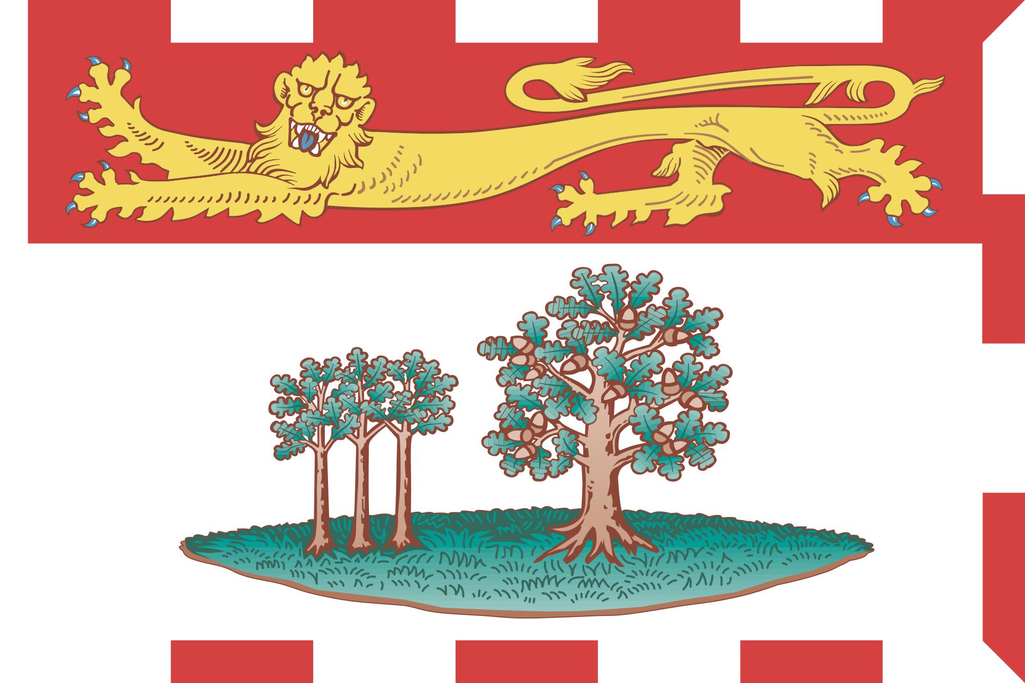 Flag of Prince Edward Island, Canada