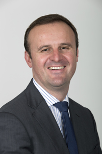 Photo of Mr Andrew Barr